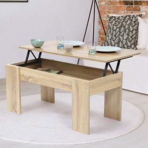 Notre sélection pour choisir une table basse relevable pas cher